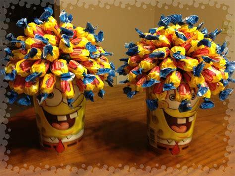 spongebob centerpiece decorations spongebob centerpieces spencers birthday