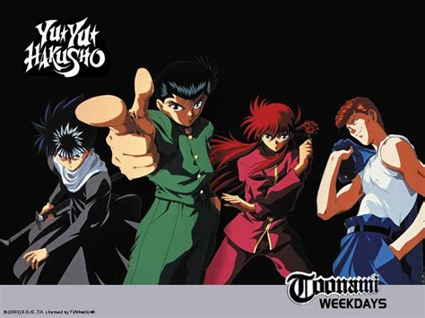 Yuyu Hakusho three cents which show would like to see on toonami