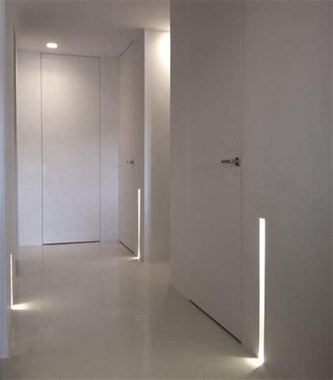 illuminazione corridoi vani ciechi e illuminazione cama studio design