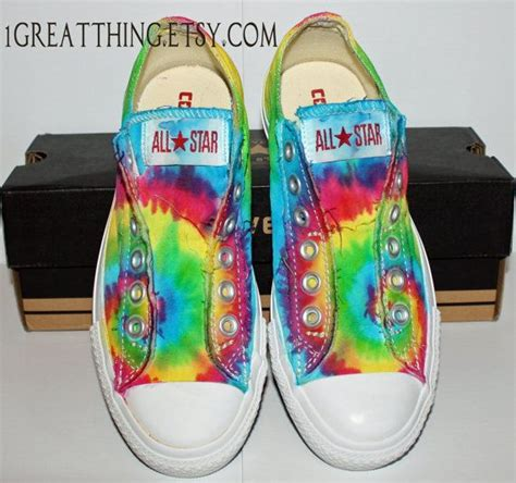 Jual Converse Tie Dye converse tie dye shoes dyed and custom made by one great thing converse shoes and dyes