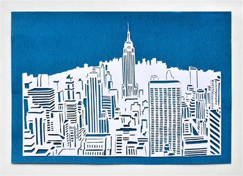 Handmade New York - new york papercut handmade kultur