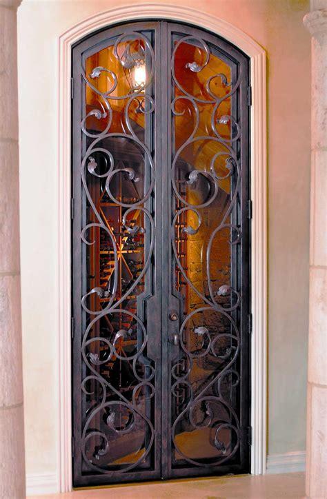 wine closet doors wine cellar iron doors gates florida cantera doors