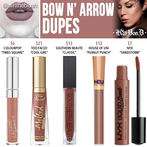 Preloved D Bow N Arrow d lipstick dupes the of