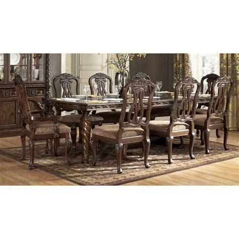 Shore Dining Room Set Shore 7 Dining Set D553 7pc 1 443 129 Chair