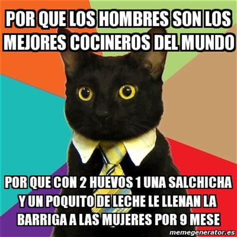 imagenes de memes los mejores meme business cat por que los hombres son los mejores