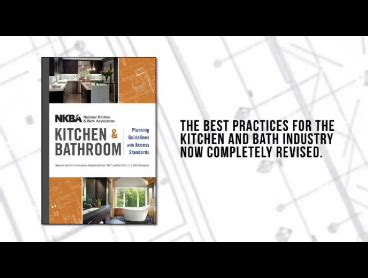 nkba kitchen and bathroom planning guidelines with access standards amazon com nkba kitchen and bathroom planning guidelines