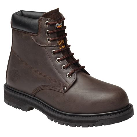Sepatu Safety Dickies dickies fa23200 dickies cleveland safety boot brown