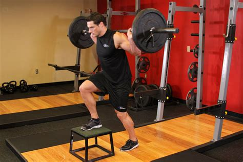 weighted bench step ups barbell step ups exercise guide and video