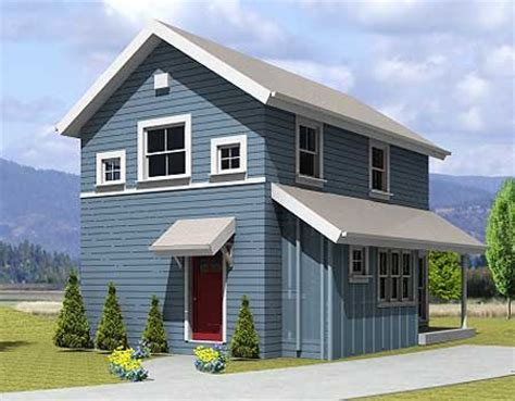 Home With Small Footprint 969 Sq Ft With Small Footprint Small House Plans