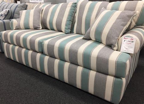 overnight sofa coastal sleeper collection  sign mist