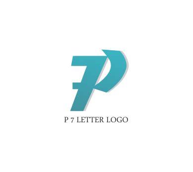 P 7 letter logo design download | Vector Logos Free ... P Design Logo