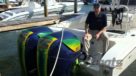 freeman boats with seven marine seven marine 557 hp outboards first look video youtube