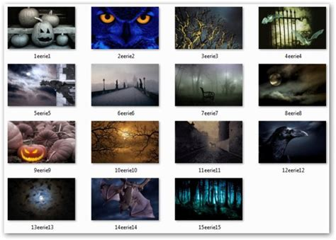 win 7 halloween themes microsoft launches halloween windows 7 desktop themes