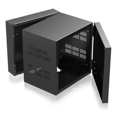 10 inch deep console cabinet stand alone wall rack with adjustable rails 15 quot deep 10ru