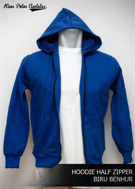 Ziper Polos hoodie zipper polos bahan cotton fleece grosir kaos