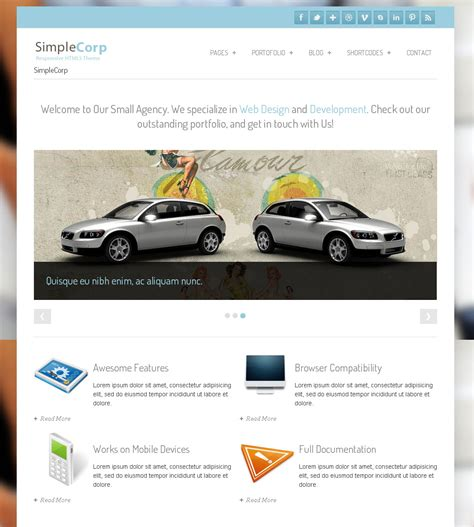 drupal themes not working simplecorp free drupal theme freedownload web design