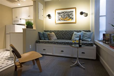 the living room providence us s oldest mall opens up as micro apartment complex