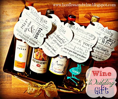 Wedding Gift Ideas Wine up of diy gift ideas pretty handy