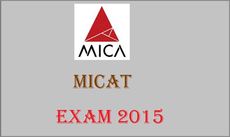 Mica Mba Eligibility by Micat 2016 Date Rescheduled To December 13 Check