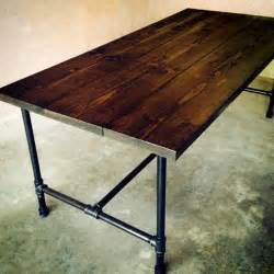 dining table galvanized dining table