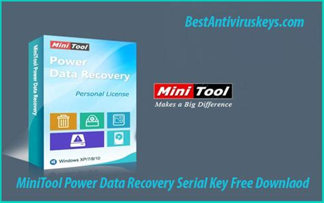 power data recovery full version crack minitool power data recovery serial key 100 free for 365 days