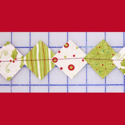 pattern for fabric garland lazy girl designs lgdgar easy fabric garland downloadable