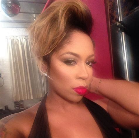 all k michelle hairstyles k michelle short hairstyles
