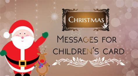 christmas card messages  childrens christmas greeting wishes child