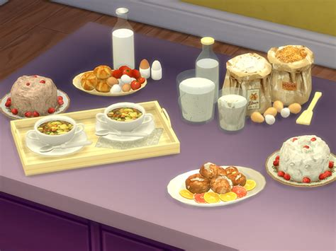 sims 4 food cc my sims 4 blog ts2 kativip decorative food conversions
