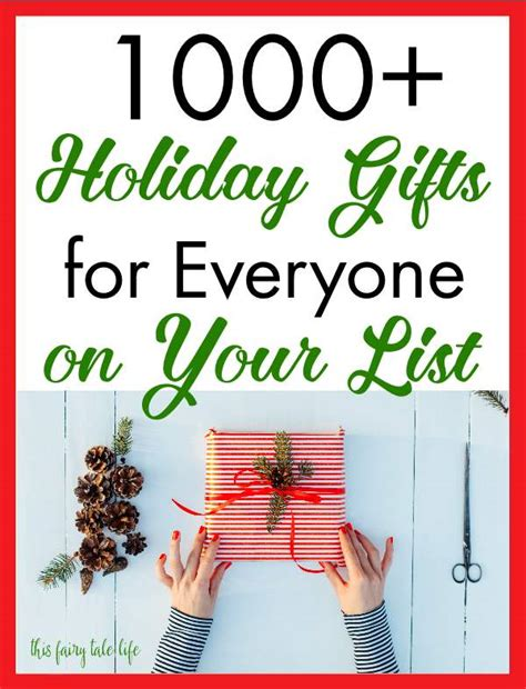 1000 gift ideas for everyone on your list this fairy