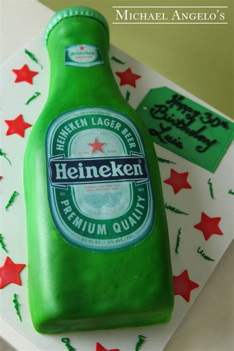 Heineken Features You As The by Heineken 43food This Cake Is Made In The Shape Of A
