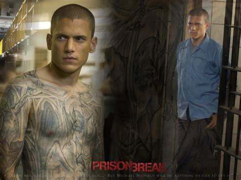 wentworth miller tattoos prison posters tv series posters and cast