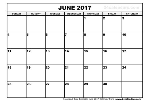 calendar printable template june 2017 calendar printable template holidays pdf