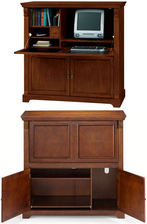 wide armoire bookcases computer armoires let the dining room do double duty
