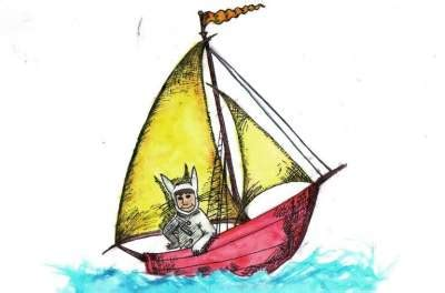 where the wild things are sailboat where the wild things are teen ink