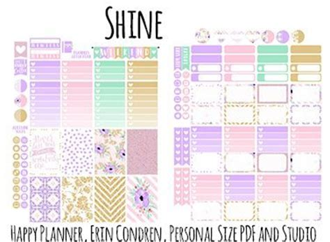 Galerry printable birthday planner stickers