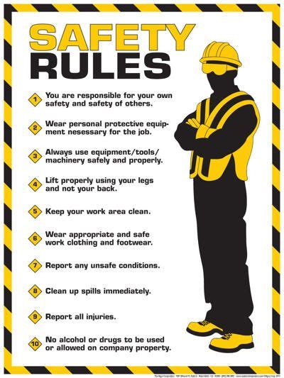 poster layout rules 25 best ideas about safety on pinterest emergency