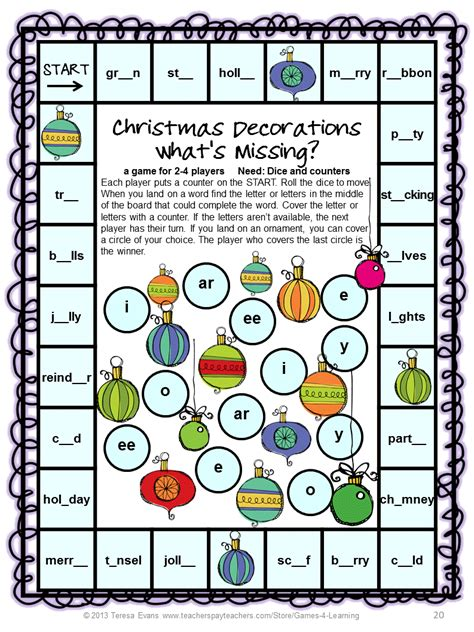 printable literacy word games fun games 4 learning december 2013