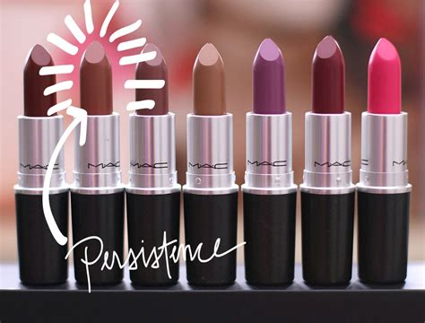 by mac cosmetics archives temptalia beauty blog makeup mac unsung heroes persistence matte lipstick makeup and