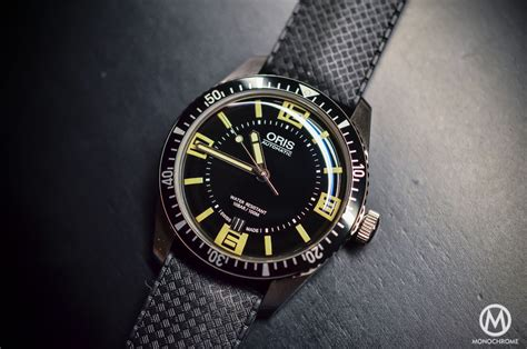 on review of the oris divers sixty five live photos