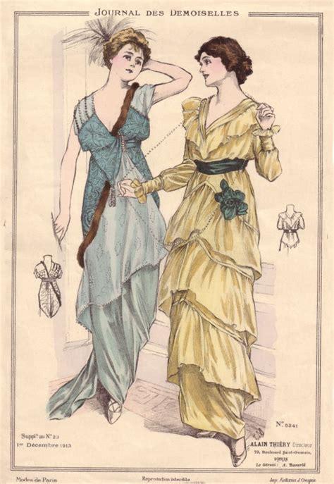 styles of 1914 le journal des demoiselles fashion plates part 11