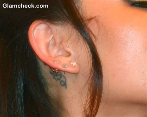 janel parrish tattoos janel parrish s the ear