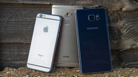fingerprint fight galaxy note 5 vs mate s vs iphone 6s android authority