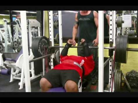 1000 pound bench 1000 lbs resistance band bench press with glenn russo