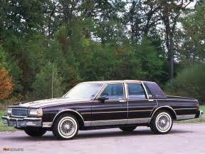 Chevrolet Caprice 1987 1987 Chevrolet Caprice Classic Information And Photos