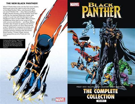 black panther by reginald hudlin the complete collection vol 1 black panther the complete collection black panther by christopher priest the complete