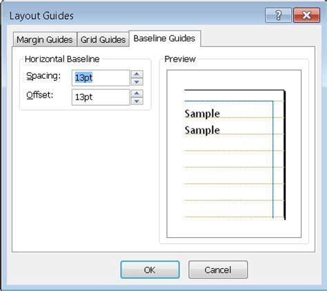 layout guides in publisher 2010 understanding the layout guides dialog box in publisher