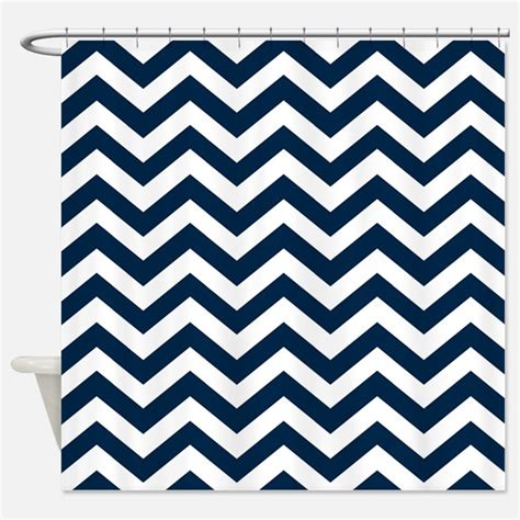 navy chevron shower curtain navy and white chevron shower curtains navy and white