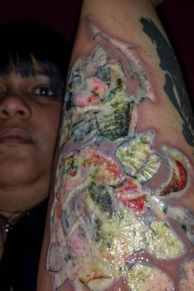 infected tattoo dream meaning black ink tattoo studio sued by customer who sustained