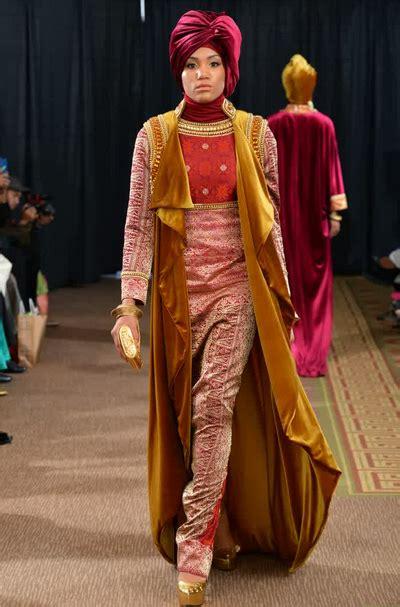 Baju Muslim Wanita Elegan gambar model baju muslim songket elegan untuk wanita